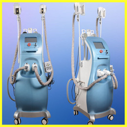 Wholesale Ce Options - Two Handles Work Same Time Fat Freezing Machine Lipofreeze Body Slimming Machine With Three Size For Option
