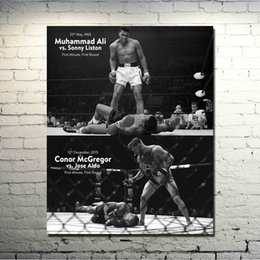 Grandi salotti online-CONOR McGREGOR UFC MMA Motivational Silk Poster 24x30 pollici Immagini per Living Room Decor Grande regalo