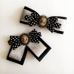 Estilos de corbata de lazo de las señoras online-Nueva Llegada Escuela de Estilo Niñas Bowtie Lady Dress Tie Collar Mujeres Multi Estilo Patrón Corbatas de lazo Para Damas accesorios de la camisa