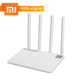 Wholesale wifi 5ghz - Original Xiaomi Mi WiFi Router 3G 1167Mbps 2.4GHz   5GHz Wireless WiFi Router Dual Band 128MB ROM 100m Portable Xiaomi