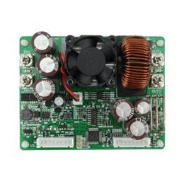 2019 power inverter geführt Konstante Spannung Strom Abwärts Kommunikation Digitale Stromversorgung Buck Spannungswandler LCD Voltmeter 50 V 20A