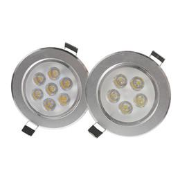 Plafond rond brillant en Ligne-De LED Downlights 9W 12W 15W 21W / conducteur lumineux rond d'ampoule Downlights de Dimmable lumineux Le conducteur LED allume le plafonnier LED Downlight enfoncé