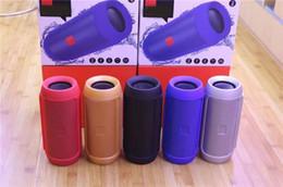 Büyük Anlaşma! 5 renkler Subwoofer Hoparlör Kablosuz Bluetooth Mini Hoparlör tarafından Charge 2 + logo ile ve logo baskı olmadan hızlı kargo nereden