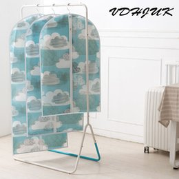 Wholesale Suit Dust Cover Bag - Thicken Cloth Cover Bag Garment Suit Coat Dust Cover Dust Bag Coat Storage Protector cloth Protective