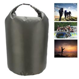 Portable 70L étanche sac étanche stockage résistant à l'eau vert armée grand sac pour kayak extérieur camping équipement rivière trekking ? partir de fabricateur