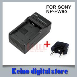 Chargeur de batterie 10PCS NP-FW50 US Plug + Plug adaptateur ForNEX-5N NEX-5T 5R NEX-F3 A5100 A6000 ? partir de fabricateur