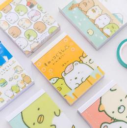 Mini diario della tasca online-Sumikko Gurashi Cartone animato fai da te copertina morbida mini taccuino diario tasca notepad regalo promozionale di cancelleria