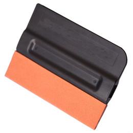 Lámina de fibra online-¡Envío gratis! Pro Tint Bondo Suede Edge Squeegee Teflon Fiber Vinyl Sheet Car Wrap Aplicator Kit