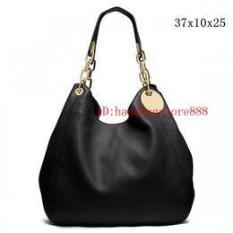 Wholesale Designer Chain Handbags - 2018 Women FASHION Handbags MICHAEL KALLY luxury double zippers women famous brand designer bags PU leather chain shoulder bag 8936