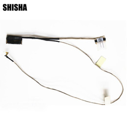 wholesale lvds cable Promo Codes - 10pcs lot New LVDS LED LCD Video Flex Cable For ASUS Vivobook S551 S551L S551LA S551LB DDXJ9BLC010 Screen Display Cable