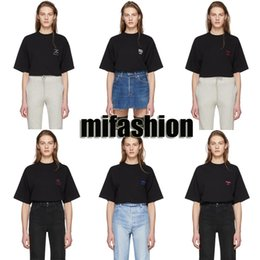 Wholesale Pisces Woman - Europe 2018 Summer Fashion Men Women Vetements Libra Scorpio Germini Virgo Pisces Leo Taurus Oversized T shirt Hip Hop Long Tshirt Tee Top