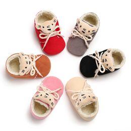 Bottillons en cuir à semelle souple en Ligne-Semelle souple en cuir Bébé Chaussures Garçon Fille Infant Toddler Mocassin Berceaux Bottines