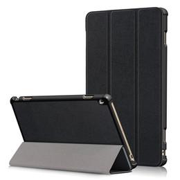 Flip Auto Sleep Wake Up Cover per Huawei Mediapad M3 Lite 10 WP Case HDN-W09 / L09 Slim Leather PU magnetico + Pen da
