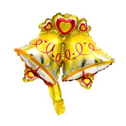 Expédition rapide des cadeaux de noël en Ligne-2019 Père Noël ballons en aluminium joyeux décor de Noël ballon gonflable à l'hélium Arbre de Noël jouet de Noël en bonbon canne traîneau cadeaux avec Fast ship