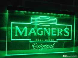 Wholesale irish neon bar signs - LE148g- Magners Irish Cider Bar Beer Pub LED Neon Light Sign
