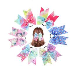 Deutschland 24 stücke Baby Mädchen Neue Mode Polyester Band Einhorn Stirnband Kinder Haarschmuck Kinder Haarbänder Geschenk für Mädchen Versorgung