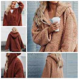 08c0a69718690 prendas de vestir exteriores de invierno de moda Rebajas Moda mujer  sudadera con capucha de manga