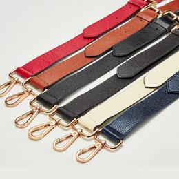 Deutschland IMIDO 130 cm Echtes Leder lange tasche Gurt für Handtaschen Frauen ersatzgurte schultergurt zubehör teile Braun STP027 Versorgung