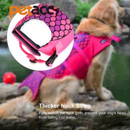 2019 chaqueta para nadar Perro Natación Conservador Traje de baño Mascota Perro Ahorre Chaleco salvavidas Ropa de seguridad Chaleco salvavidas Ahorrador hacia afuera Mascotas