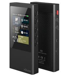 Wholesale Usb Output Bluetooth Music - xDuoo X20 ESS9018Q2M OPA1612 MINI HIFI USB DAD DSD HD Dual Bluetooth 4.0 Lossless Music Player 32Bit 384kHz Balanced output