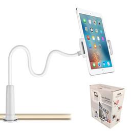 cea5ce2ceaf fundas iphone Rebajas Tenedor perezoso del soporte del soporte del  escritorio de la cama de cuello