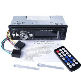 2019 mini rádio usb remoto Chegada nova Car Stereo Bluetooth MP3 Player Cartão SD U Disco AUX Music Player Automóvel 1Din Em-traço de Rádio FM Autoradio com Controle Remoto