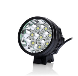 Wholesale Max Bikes - SALE !!! LED BIke Light   8*Cree XM-L T6 3 Modes Max 12000 Lumen Bicycle Front Light with 8.4v battery pack+AC Charger