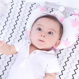 Wholesale Head Restraints - Summitkids Cotton Baby Pillow Newborn To Correct Anti-migraine Memory Foam Pillow child head restraint Newborns Head Protection