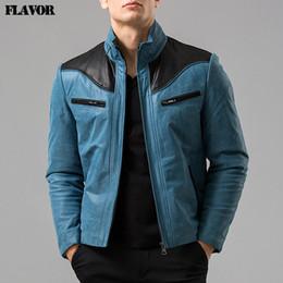 40ffff916da2 Men s Blue Leather Jackets Australia