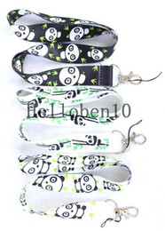 Wholesale Love Very - With 100 lovely panda fashion iPad mobile phone lanyard, 3 different colors to choose from, most people are very love