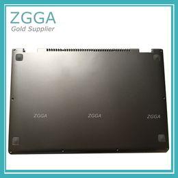 Wholesale Antenna Silver - Original Lower Case Base Shell New For Lenovo IdeaPad Yoga 13 Laptop Bottom Cover Silver W Speaker Antenna 11S30500171 73041039