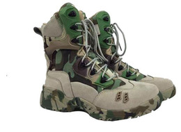 Wholesale Digital Desert - Digital camouflage combat boots comfortable and breathable casual Martin boots men high desert climbing boots