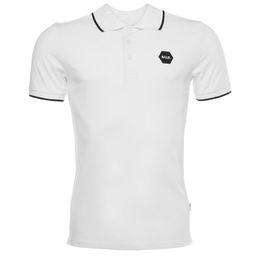poche pour polo homme Promotion Haute qualité 2017 NOUVELLE mode Euro taille Mesh Cover Balr Polo t shirt menwomen NL luxe marque vêtements ronde Pocket t-shirt livraison gratuite