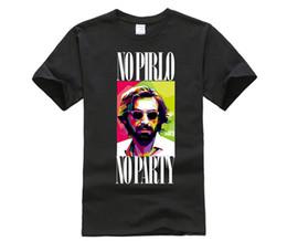 italian casual fashion for men 2018 - Italian Andrea Pirlo T-shirt For Men Fashion Short Sleeve Casual DIY Cotton Tee Shirts High Quality Summer Tops