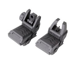 Wholesale Back Up Sights - Tactical Hunting front Sights Rear Sights Folding Back-up 20mm rail Picatinny handguard Rail for AR 15 16 M4