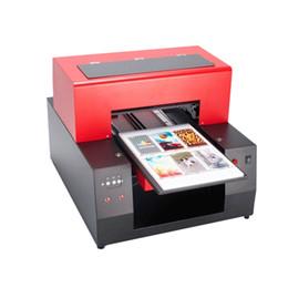 2019 kommerzielle etikettendrucker 2018 automatische A3 uv-flachbettdrucker Holz Druckmaschine Uv-flachbettdrucker Für Karte Glaskeramikflasche