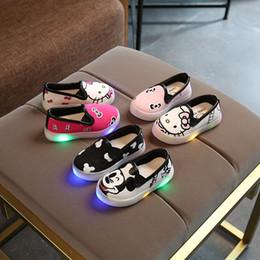 European 2017 European fashion slip on lighted cartoon baby casual shoes  high quality cute boys girls shoes LED kids baby a60b0ddef279