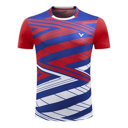 2018 Chemise de badminton Victor Homme / Femme, Corée Vêtements de badminton Son Wan Ho, maillot de sport pour homme 275 ? partir de fabricateur