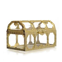 Forniture di plastica online-Plastica trasparente Jewelry Box di stoccaggio Mini dal design di lusso Candy Box per la festa di rifornimenti regali romantici contenitore Many Size 2 15rt3 ZZ
