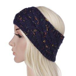 9 Renkler Örme Tığ Kafa Kadınlar Kış Spor Headwrap Hairband Türban Kafa Bandı Kulak Isıtıcı Bere Cap Headbands nereden siyah sarı şapka tedarikçiler