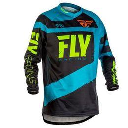 Wholesale Cycle Jersey Long Sleeve - Motocross Racing Jerseys Motorcycle Long Sleeve Jersey MTB Downhill Bike Shirt MOTO MX DH Cycling Gear