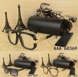3dac9d87032fb eyeglass sales Australia - summer hot sale Design Big frame Metal pilot  Fashion men women sunglasses