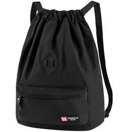Bolsos de moda para hombres online-Vbiger Men Women Mochila con cordón Chic School Shoulders Bag Mochila clásica con cordón Saco de moda Casual Daypack