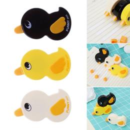 Forniture per ufficio d'anatra online-1 Pc 6M Funny Lovely Duck Correction Tape Stationery Office Forniture scolastiche per i bambini