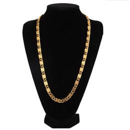 2020 le catene lunghe disegnano la moda A lunga catena degli uomini di Hip Hop Oro collane Crude catene dei monili di disegno di riempimento 60 centimetri collana di gioielli uomini di Hip Hop a catena per la Mens le catene lunghe disegnano la moda economici
