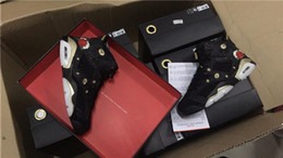 Wholesale Black Soccer Balls - 2017 Air 6 Chinese New Year Basketball Shoes for Women Men Sports Sneakers 6s CNY Brand Basket Ball or Metallique Trainers Shoe