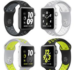 Argentina Nuevas correas de muñeca de silicona para Apple Smartwatch 2 Accesorios de reemplazo de la pulsera deportiva Smart Watch Band OTH578 supplier wrist watch accessories Suministro
