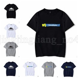 Wholesale mens christmas shirts - Fortnite T-shirt Summer Fashion Plus Size Big Kids Student Mens Fortnite Print short sleeve t shirts KKA5526