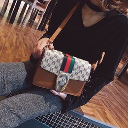 Wholesale Punk Shoulder Bags - 2018 Women Bags Fashion Small Flap Bag Punk Mini Crossbody Bag Women Messenger Bags Small Phone Package