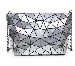 муфта геометрии Скидка Women Bao Bao Bag New Geometry Laser Handbag Fashion Chain BAOBAO Clutch Crossbody Bags For Women Shoulder Bag bolsos mujer